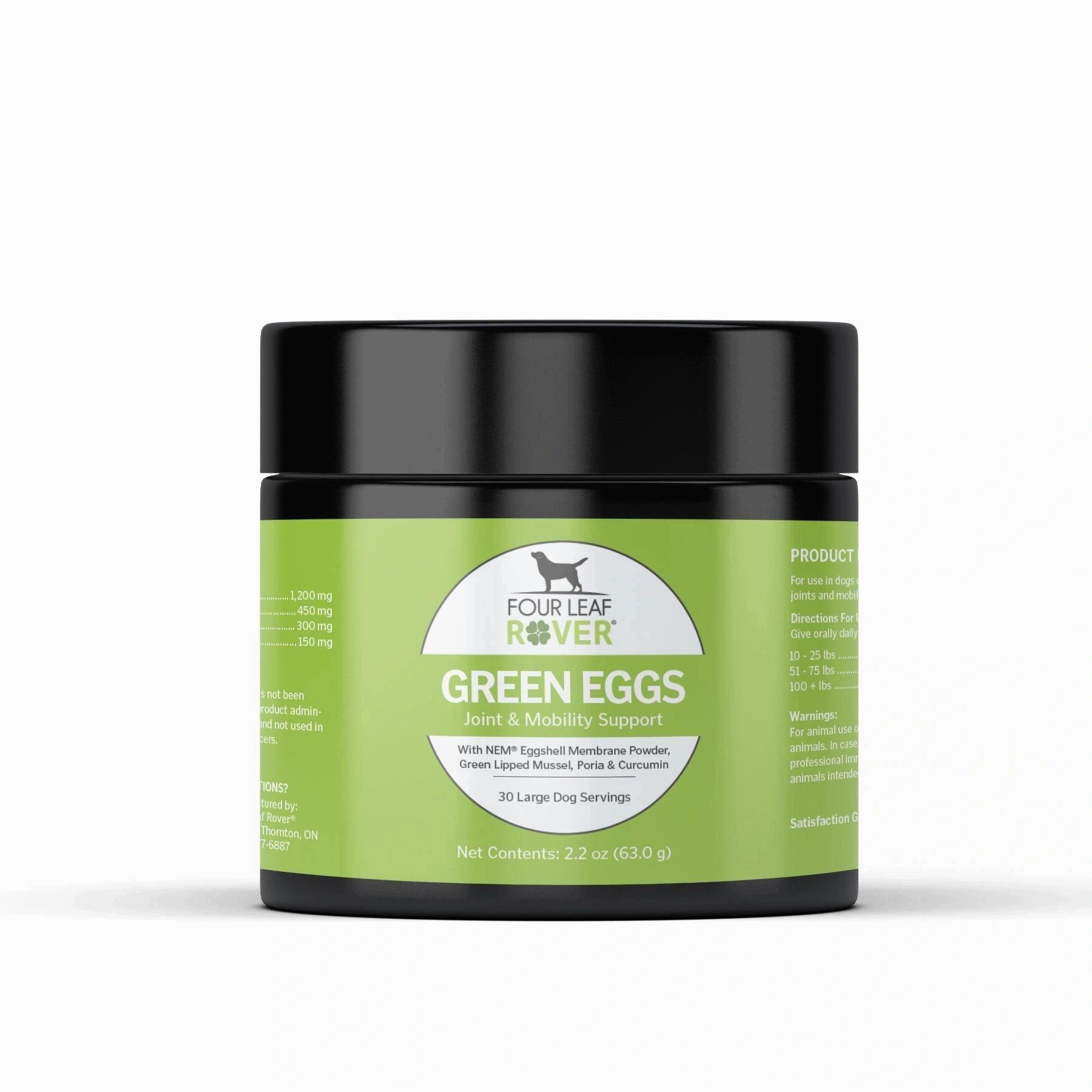 Four Leaf Rover Green Eggs