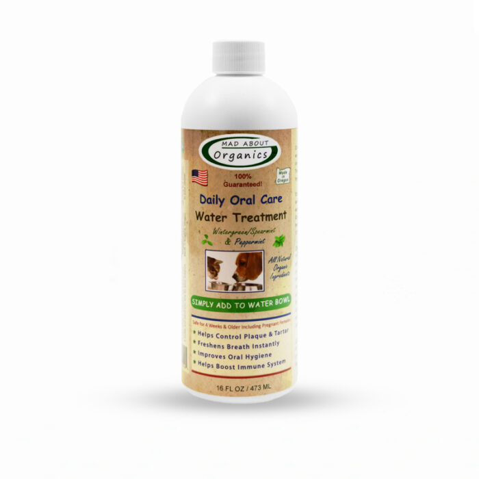 Mad About Organics Organic Oral Care Water Treatment